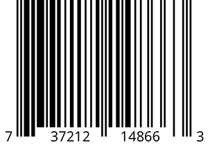 "Barcode used for packaging ""Super Angry Distortion"" (box version, on USB flash drive"")"